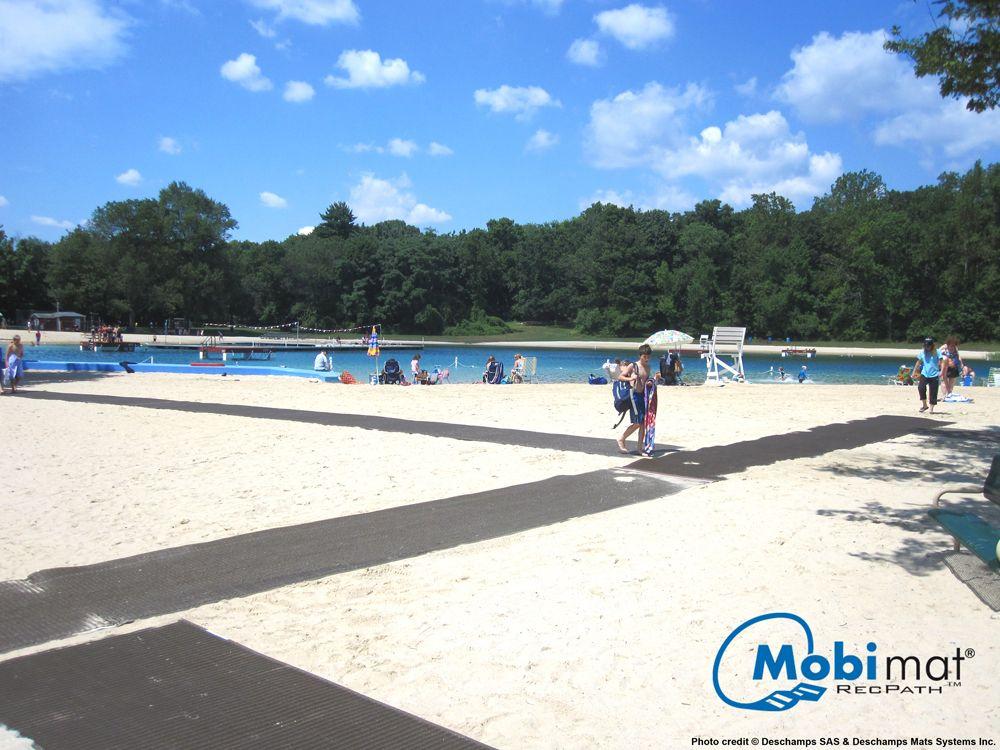 Recpath Roll Out Ada Beach Access Mat Acessibilidade