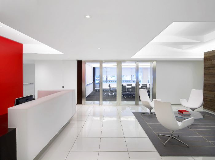We are proud to display a number of our completed office interior designs