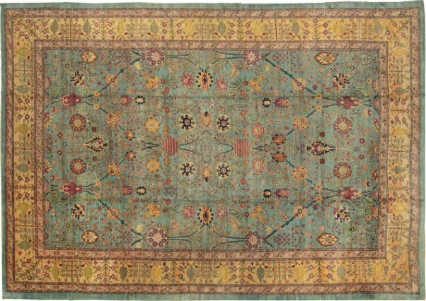 Blending Indian Custom With Western Style Agra Rugs Are The Definition Of Mulit Cultural Design