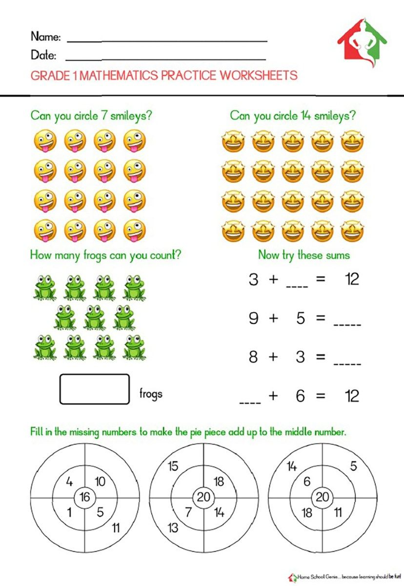 Grade 1 Mathematics Practice Sheets Practice Sheet Maths Practice Sheets Math Practices [ 1200 x 828 Pixel ]