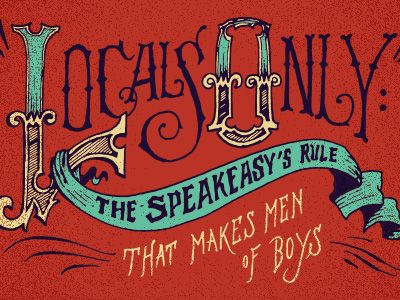 Locals Only! by Jon Contino