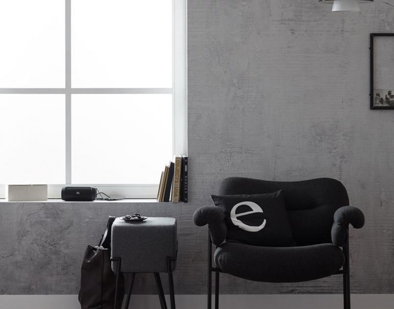 Tapeten-Trends - Moderne Muster für die Wand Betonwand  - schöne tapeten fürs wohnzimmer