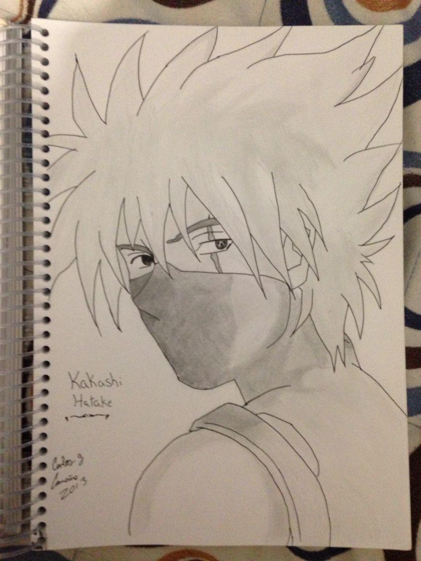 Kakashi Hatake Etapa Anbu Hecho A Lápiz Dibujos Kakashi