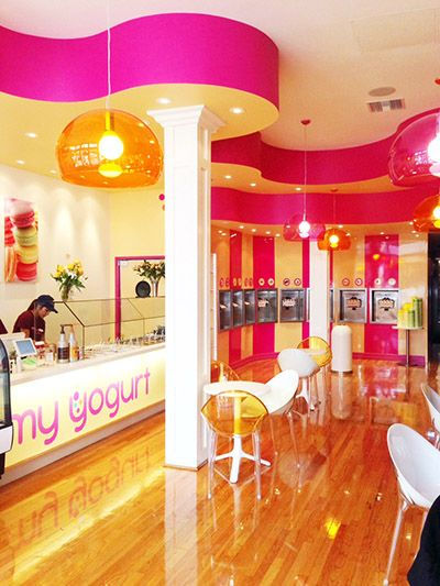 My Yogurt Frozen Store Downtown San Diego CA Commercial Interior Design News