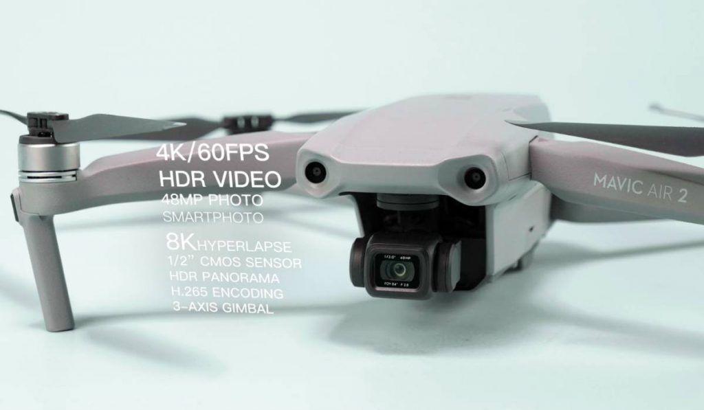 مافيك اير 2 مميزات وسعر طائرة Dji الصغيرة بدون طيار Mavic Air 2 Dji Drone Can Opener Dji