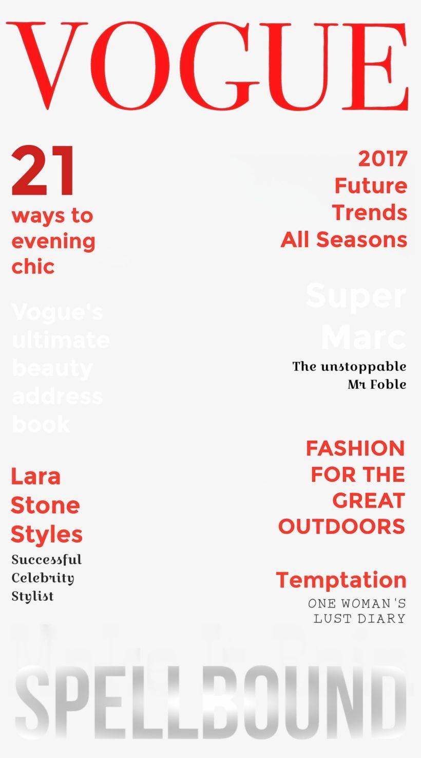 019 Fake Magazine Cover Template Ideas 1940716