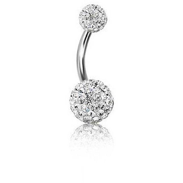 Bling Jewelry Diamond Ball Charmer Body Jewelry Belly Piercing Jewelry Body Piercing Jewelry Belly Jewelry