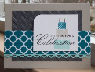 Little Bay Stampin': Start-to-Finish Sunday #13 - Masculine (ish) Birthday Card - featuring Stampin' Up! #stampinup