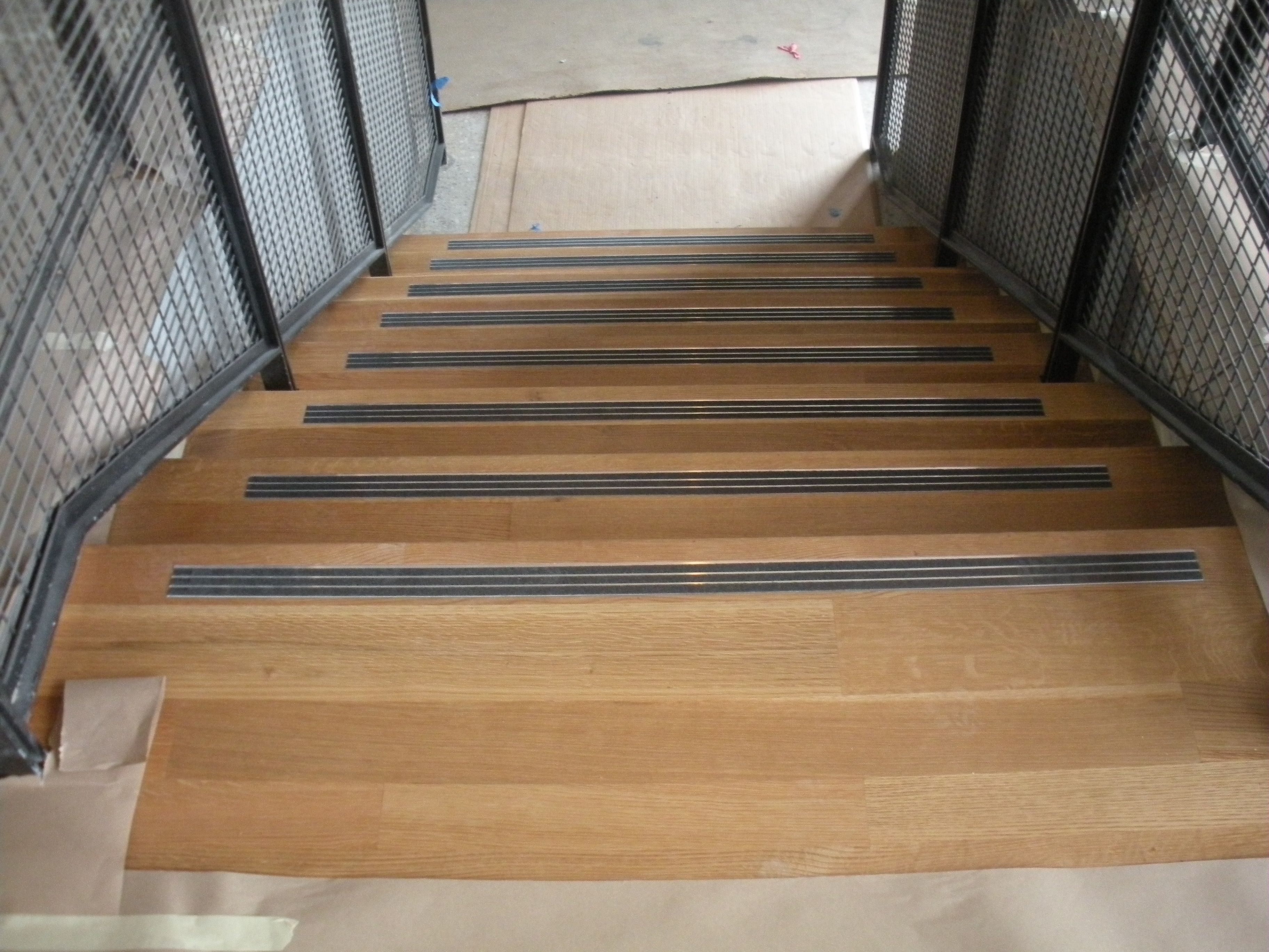 Antislip Abrasive Inlay Str*P Stair Railing Design Outdoor | Carpet Stair Treads Near Me | Flooring | Stair Runner | True Bullnose | Indoor Stair | Non Slip