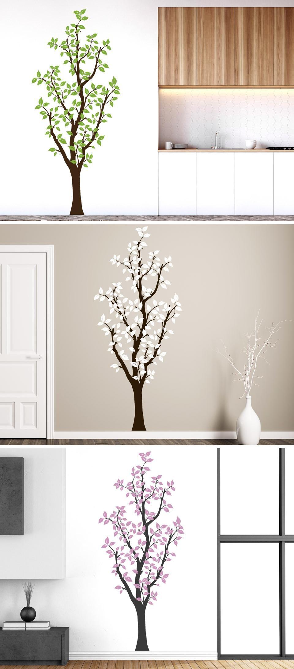 Faszinierend Wandtattoo Bäume Referenz Von Hoher Baum Von Wandtattooreview
