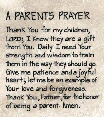 A beautiful prayer.