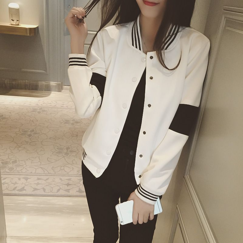 Veste femme noir et blanc