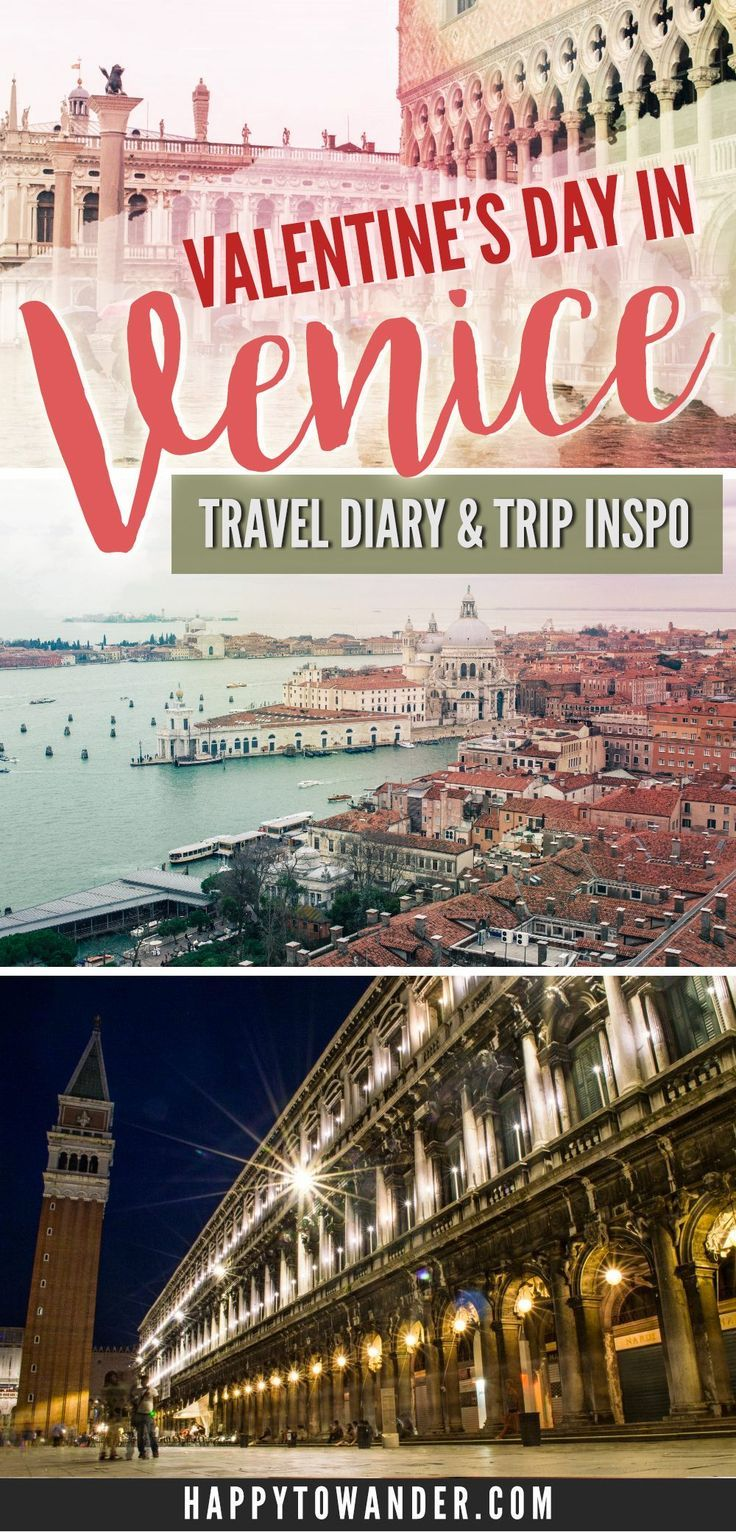 embracing clichés: spending a rainy valentine's day in venice