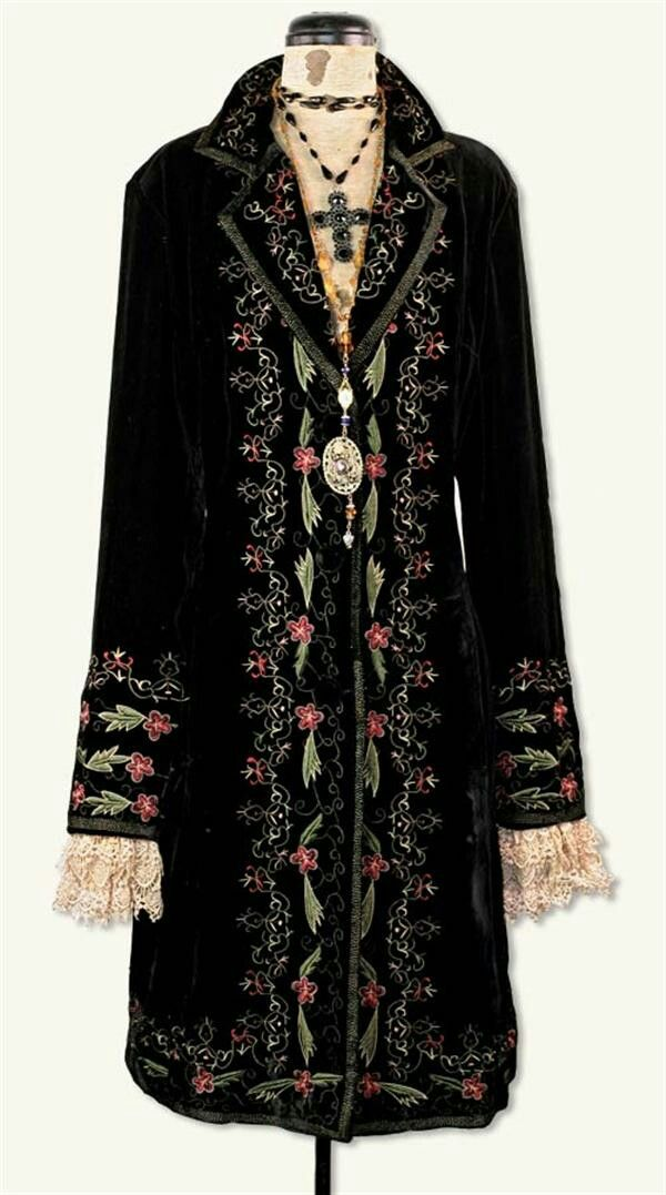 From www.victoriantradingcompany.com  I would wear the heck out of this if I could afford it!
