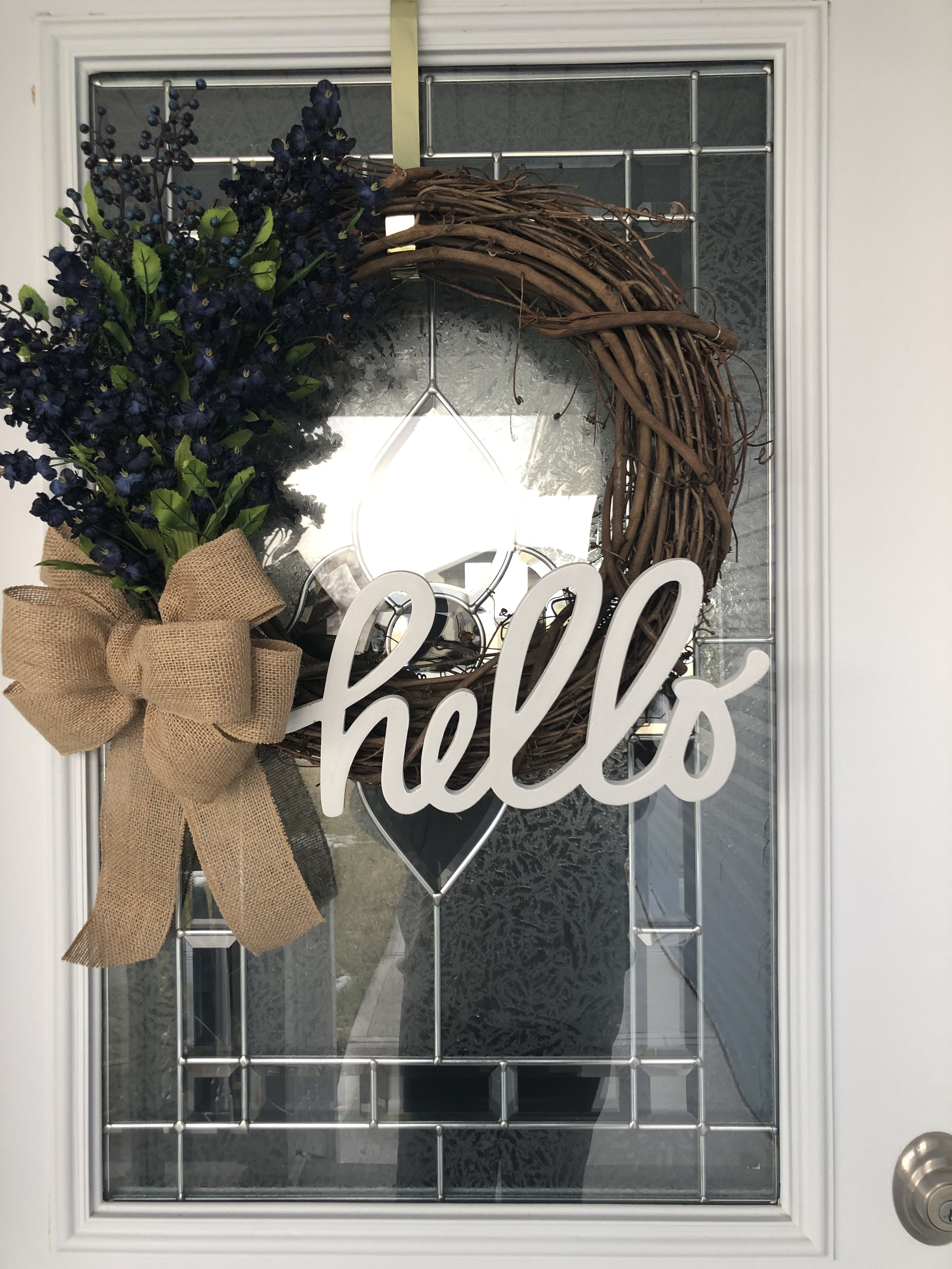 Hobby Lobby Grapevine Wreath 4 99 Chipboard Hello 3 99 Before 50 Paper Studio Discount Silk Plastic Flowers Grapevine Wreath Hobby Gifts Grape Vines