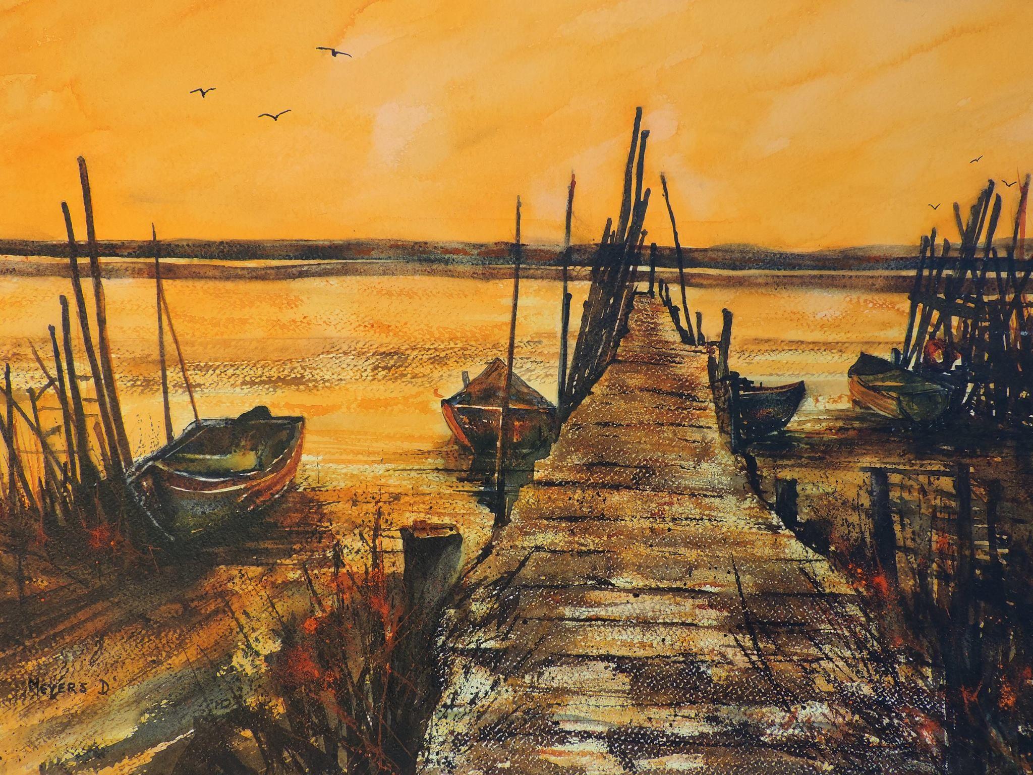Watercolour Danny Meyers