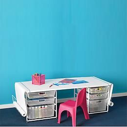Awesome The Container Store U003e Elfa Kidsu0027 Mesh Coloring Table With Rounded Corners