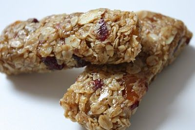 Microwave granola bars!  My kind of baking!