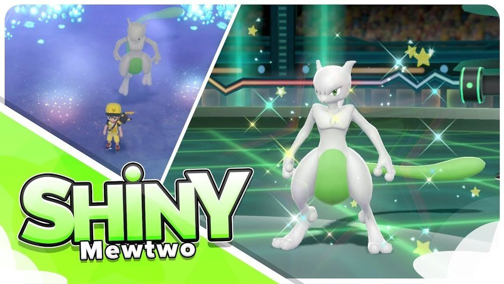 Pokemon Let S Go Nintendo Switch Game Shiny Mewtwo Pokemons 6iv