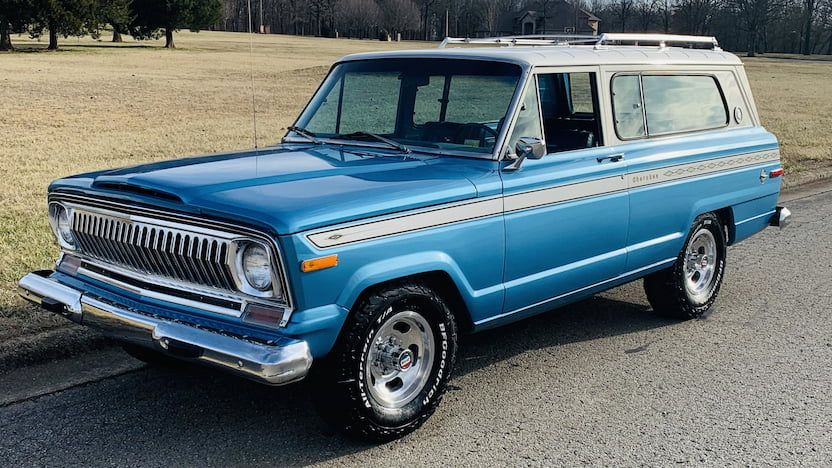 1975 Jeep Cherokee Chief F99 Houston 2020