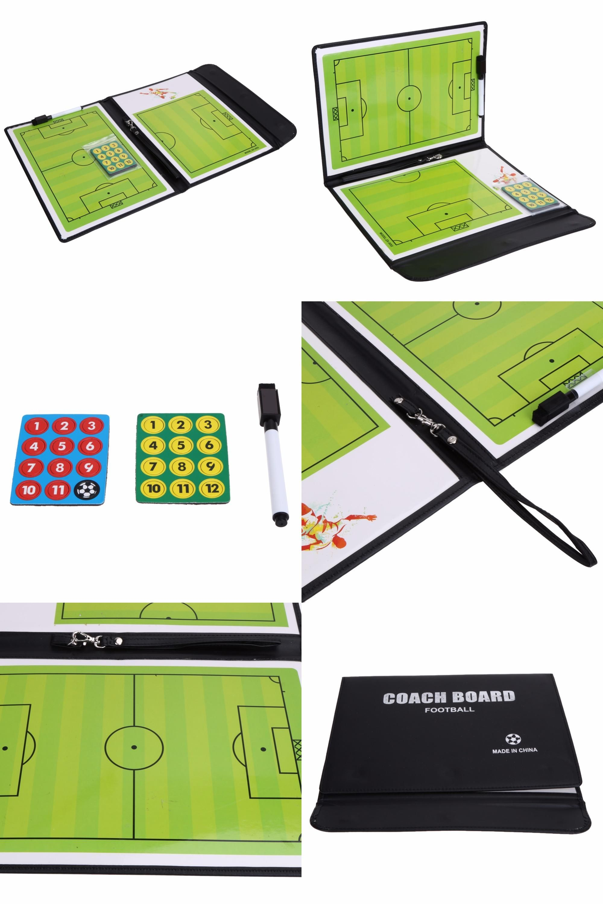 Visit To Buy Folding Football Tactic Board Coaching Board Magnetic Soccer Coach Book Set With Pen Dry Erase Clipboard Soccer Coaching Coach Football Supplies
