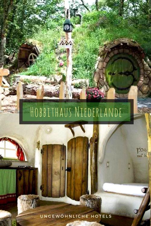 Hobbithaus An Der Niederlandischen Kuste Region Amsterdam Nur 30 Minuten Mit Dem Zug Campingplatz Mit Hobbith Ungewohnliche Hotels Hobbithaus Niederlande