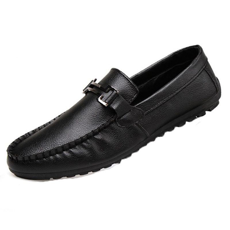 >> Click to Buy << Men Shoes 2016 New Summer Pu Leather Flats casual Loafers Shoes Fashion SLip-On Solid Color Low Top Breathable Male Lazy Shoes #Affiliate
