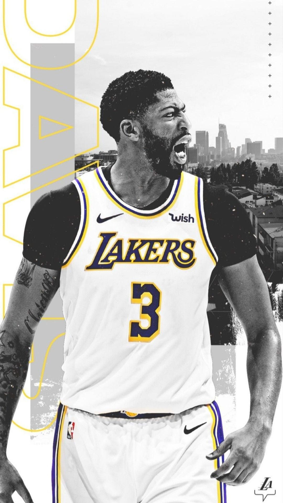 Anthony Davis Wallpaper Lakers Wallpaper Basketball Players Nba Nba Players