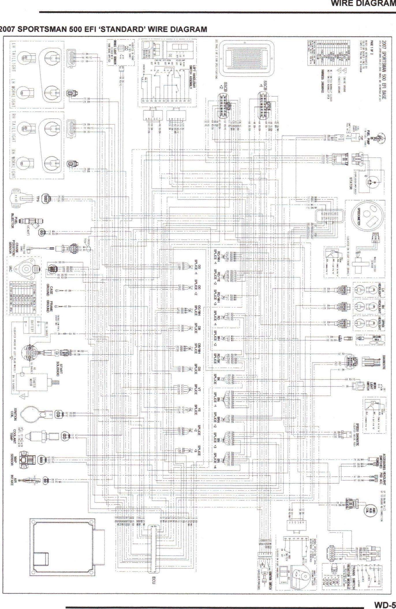 comfortable 2004 polaris sportsman wiring diagram images with predator 500 [ 1372 x 2107 Pixel ]