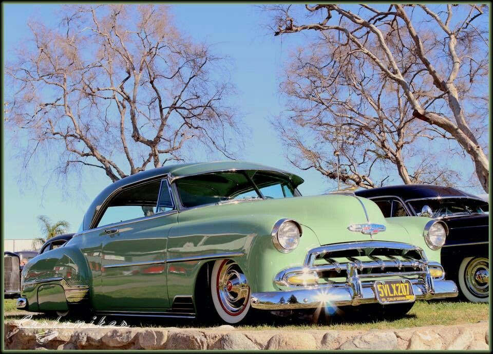 1952 Chevy Deluxe 2 Door Hardtop Lowrider cars, Best