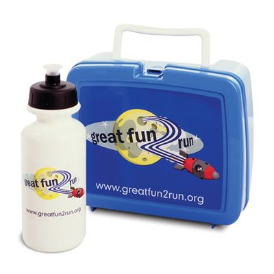 Promotional Items for Great Fun 2 Run, designed by Perro