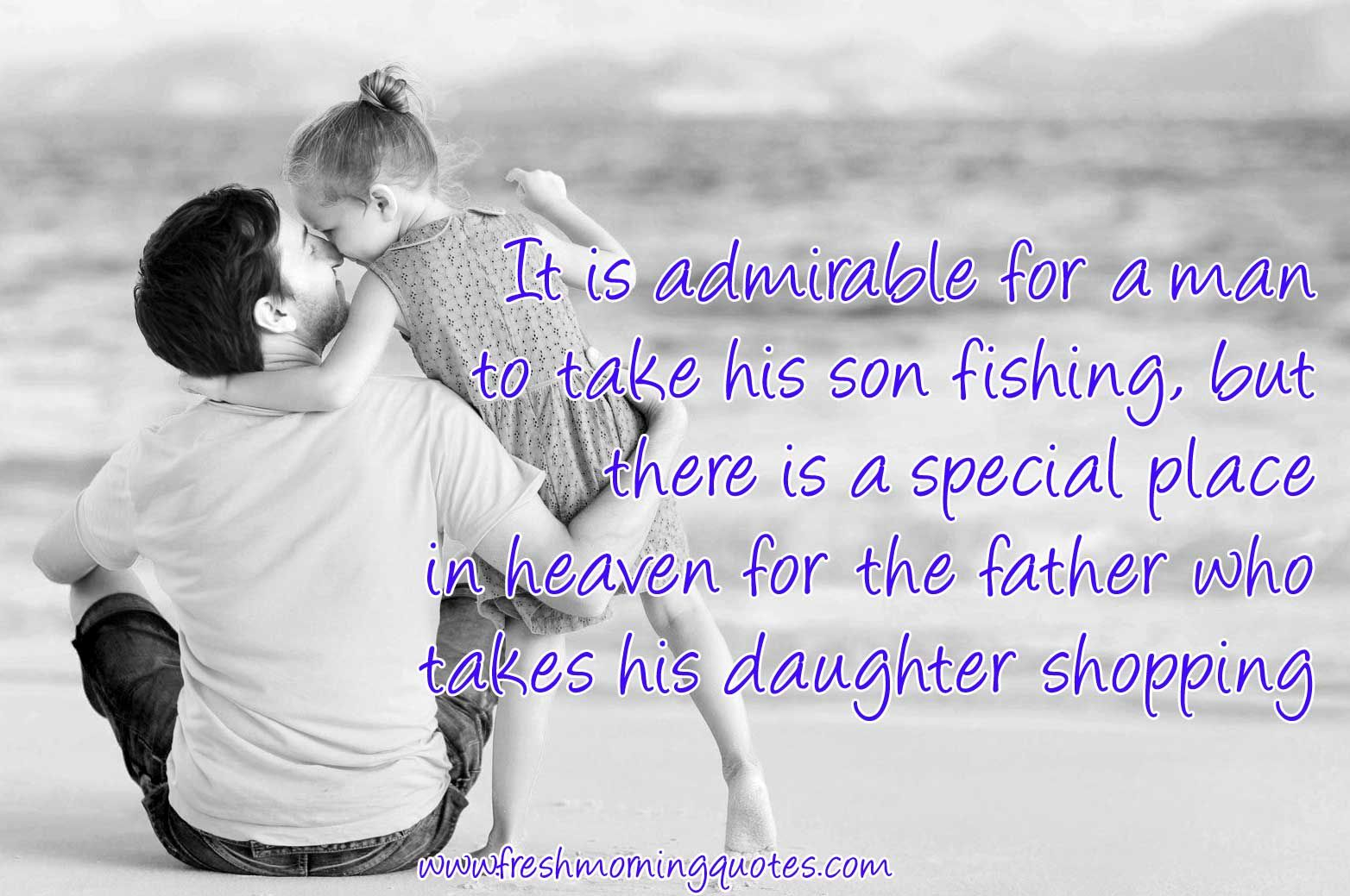 60+ Cute & Sweetest Father Daughter Quotes with Images