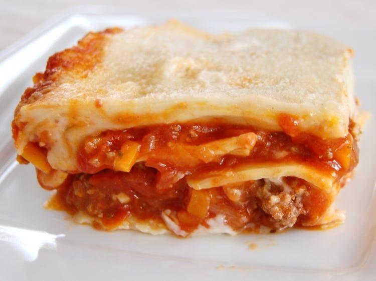 Lasagnes à la bolognaise simples