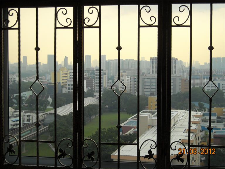 Normal wrought iron grille window our grilles for Window design grill