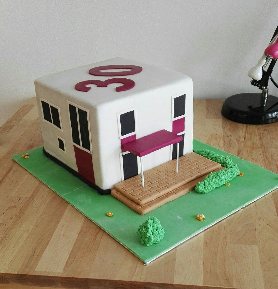Haus Torte House Cake Fondant Cake | einzugsparty in 2018 ...