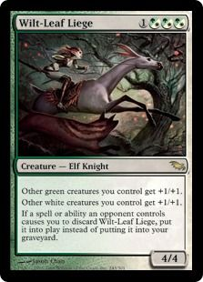 Wilt Leaf Liege Magic The Gathering Cards Magic The Gathering Mtg