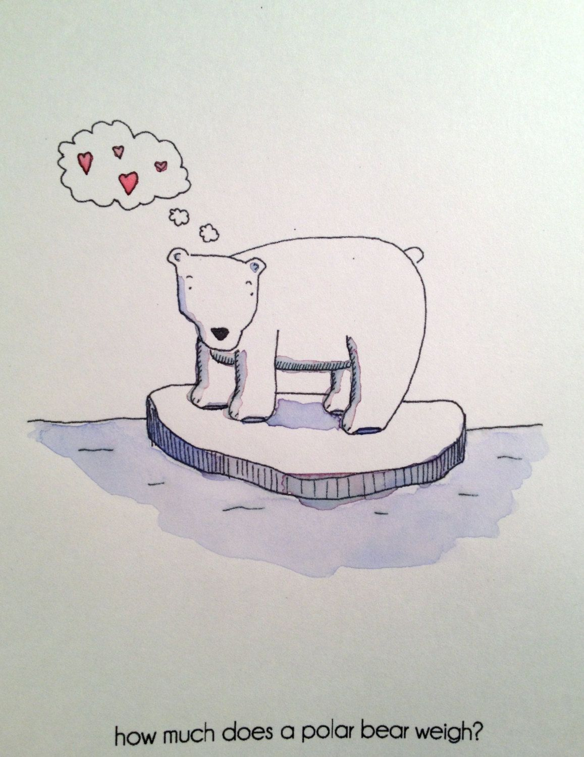 Polar bear chat up line