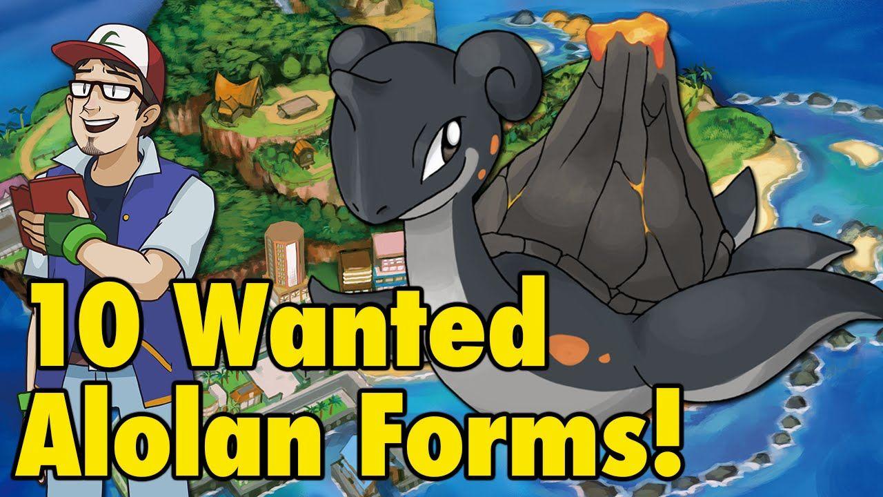 10 Wanted Sun/Moon Alolan Forms Anime funny, Pokemon
