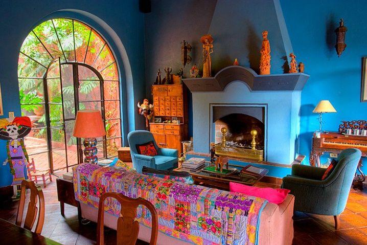 Mexican Interior Design Bedroom: Pin By La Fuente Imports On Mexican Interior Design Ideas