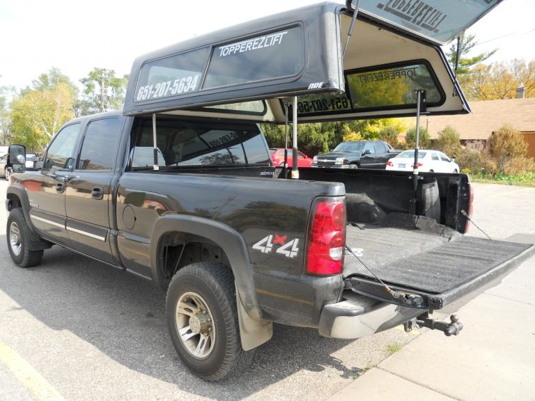Topperezlift Gallery A R E Truck Caps And Tonneau Covers Truck Caps Truck Accessories Truck Bed Covers