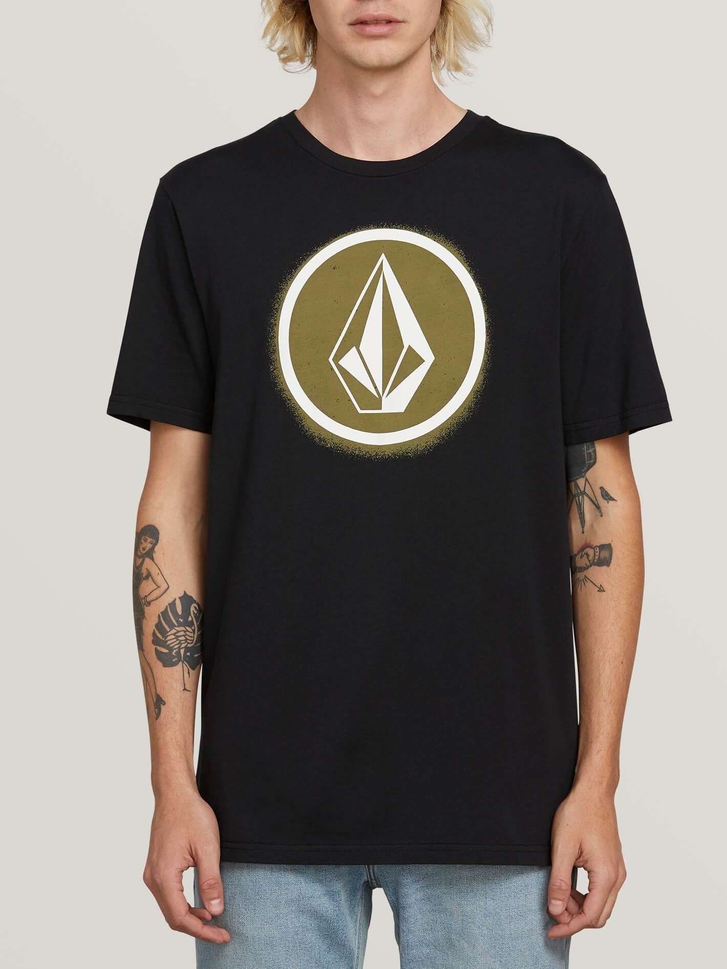 Volcom Mens Stone Path Short Sleeve Tee