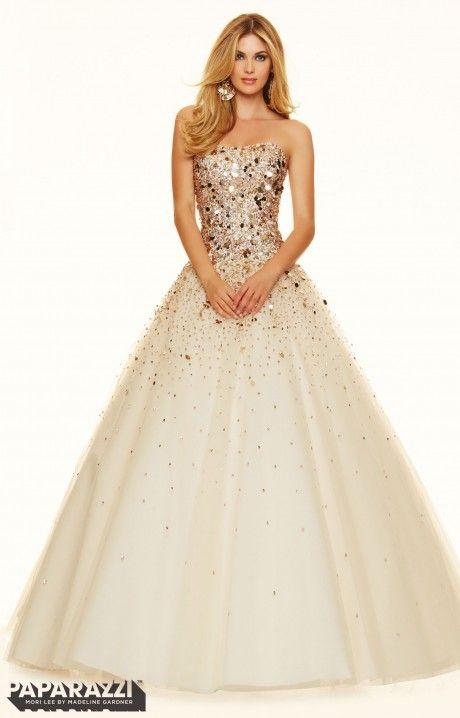 Paparazzi 98021   Moon and Stars   Pinterest   Mori lee prom dresses ...