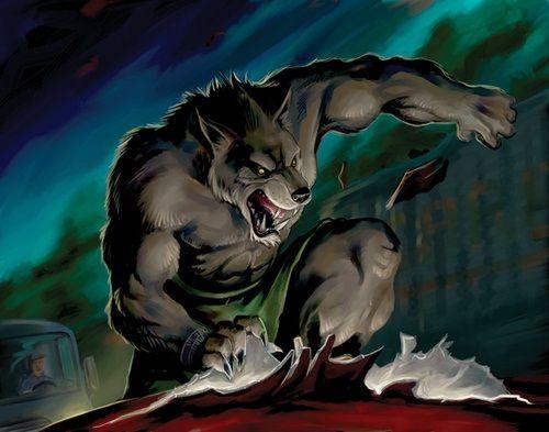 Populaire Loup garou dessin | Warewolf: The Apocalypse | Pinterest  CS99