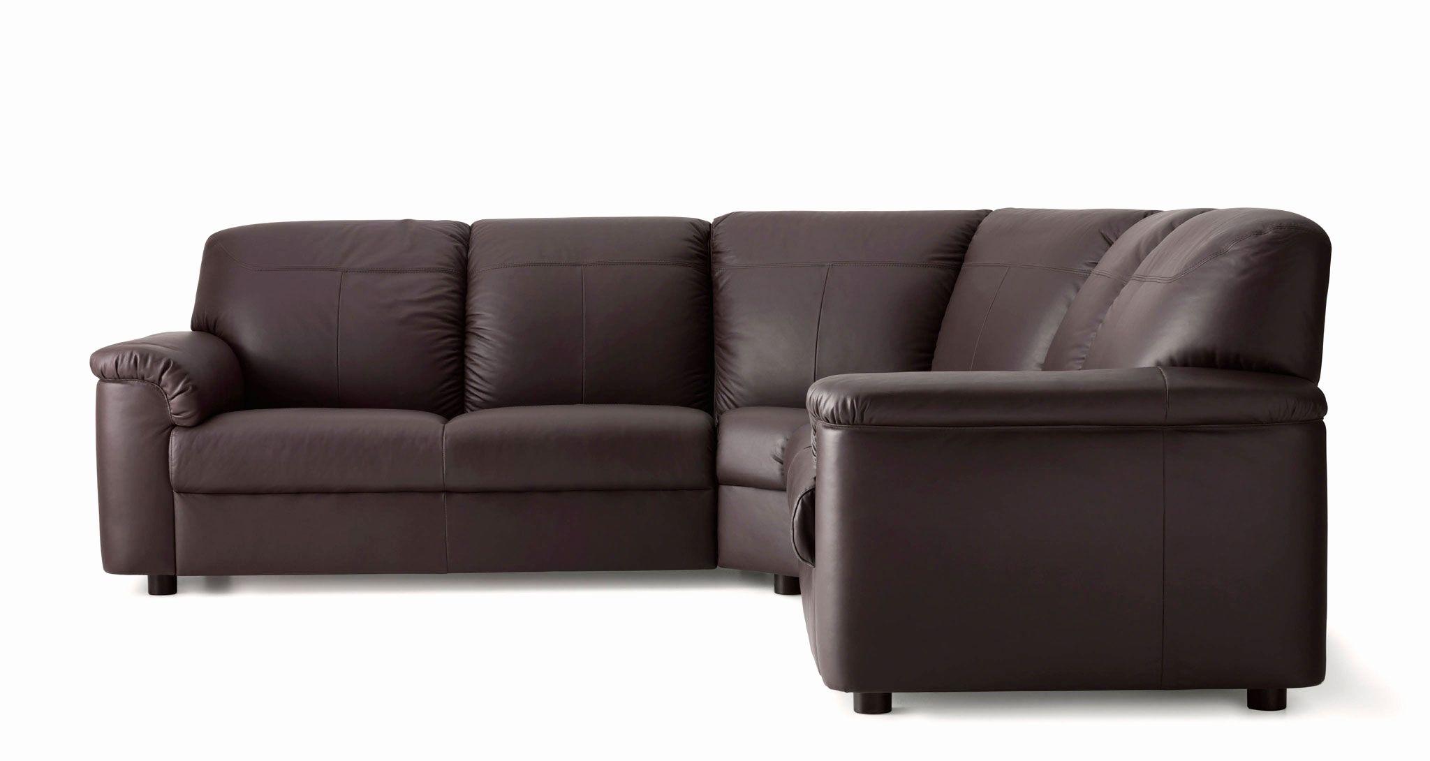 Beautiful Small Corner Leather Sofa Shot Leather Coated Fabric