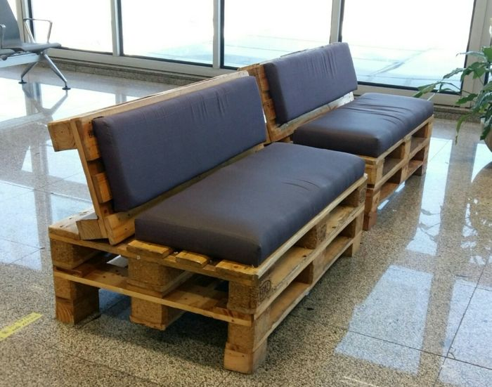 Fabriquer Facilement Un Banc Palette Furniture Wood Pallet Furniture Outdoor Furniture Sets