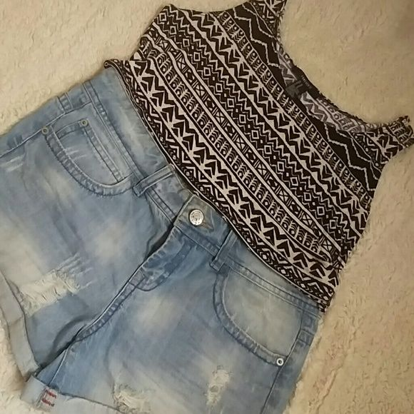 Jean shorts Brand new high waisted summer shorts Forever 21 Shorts Jean Shorts