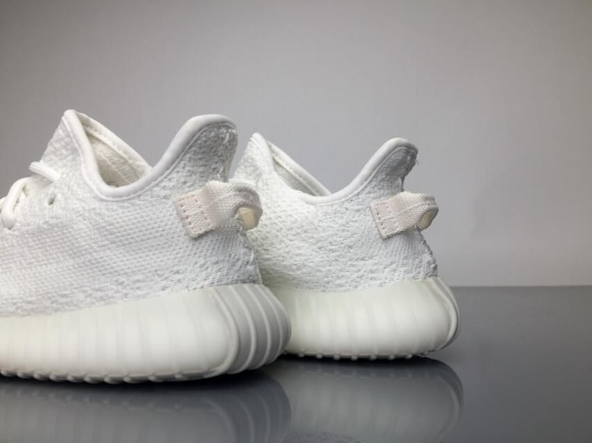 "separation shoes f27a7 bd0ae Adidas Yeezy Boost 350 Infant ""Cream White"" BB6373 Kids Real ..."