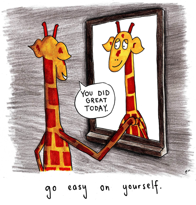 Motivational Giraffe