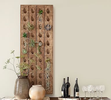 French Wine Bottle Riddling Rack Potterybarn