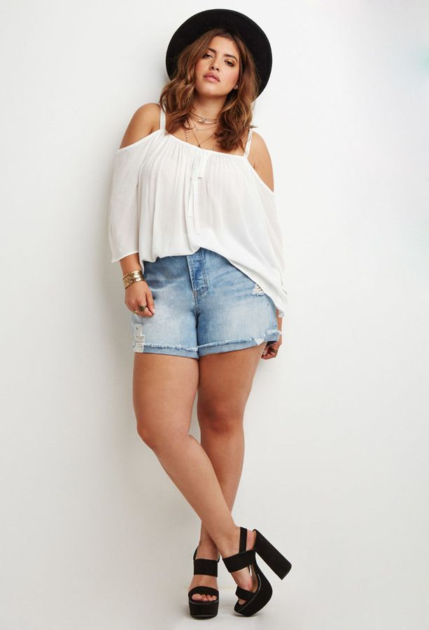 Plus size shorts for teens — img 1